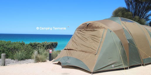 camping bay of fire