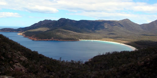 camping freycinet national park