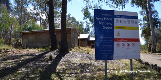 camping pump house point arthurs lake