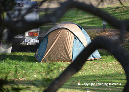 Camping Bridport Accommodation Caravan Park Granite Rock