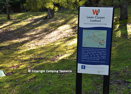 Leven Canyon Reserve Free Camping Ulverstone Nietta North West Coast