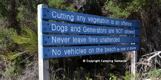 Little Musselroe Bay Free Camping Cape Portand Petal Point Gladstone