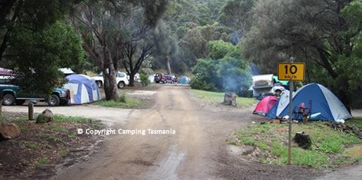 Free Camping Mayfield Bay Swansea Tasmania Coastal Reserve